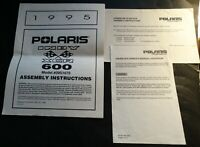 1995 POLARIS SNOWMOBILE INDY XCR 600 ASSEMBLY INSTRUCTIONS MANUAL (613)