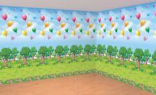 Disney Winnie the Pooh 100 Acre Wood Scene Setters Room Rolls