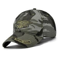 US Navy Seal Logo Cap Top Quality Military Adjustable Baseball Camouflage Cap