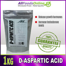 1kg - D-Aspartic Acid - All Food Supplements - Pure - 1kg