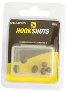 Avid Carp Hook Shots Clearance Pack: 0.2g & 0.4g (8 packs - 50% off)