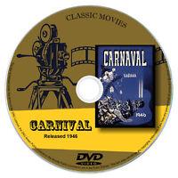 Carnival 1946 - Sally Gray, Michael Wilding - Drama, Romance, Film Noir DVD