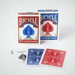 Genuine Bicycle Playing Cards Standard  Red and Blue