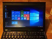 Lenovo ThinkPad Laptop X220 i7 8GB 256GB SSD Genuine Windows 10 IPS Screen