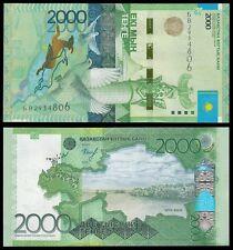Kazakhstan 2,000 (2000) Tenge, 2012, P-41, UNC