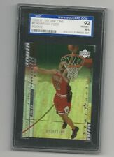 MARCUS FIZER Bulls 2000-01 UPPER DECK ENCORE Star Rookie #'d /1600 Graded SGC 92