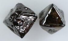 3.23 Ct Natural Loose Diamond Rough Champion Brown Color I3 Clarity 2 Pcs L7269