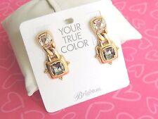 Brighton Earrings Affectionate Golden Dangle Double True Colors