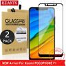2Pcs For Xiaomi Pocophone F1 Tempered Glass Screen Protector Film Full Cover