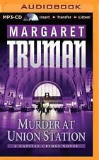 Capital Crimes: Murder at Union Station 20 by Margaret Truman (2014, MP3 CD,...