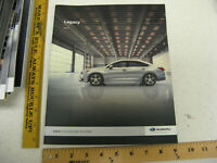 2017 17 SUBARU LEGACY DEALER SALES BROCHURE BOOK CATALOG 24 PAGES