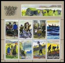 Faroe Islands 2007 Fedgar a Ferd - Old Man & Sons, Mini Sheet Mnh / Unm