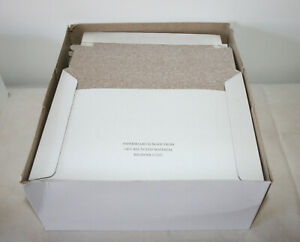 NEW DVD/CD Foam Lined Mailers Envelope 100% Recycled Paper Board 25 QTY / Box