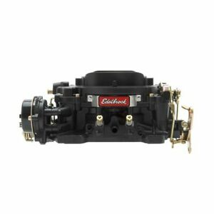 EDELBROCK 750CFM Carb w/Manual Choke - Black P/N - 14073
