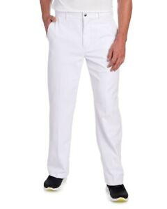 NWT CALLAWAY PRO SPIN 2 MENS BEAUTIFUL BRIGHT WHITE GOLF PANTS SUN PROTECTION 36