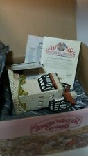 David Winter Cottages Knight's Castle British Traditions 1989 in Box With Coa