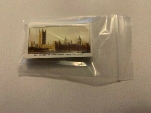 Churchman Cigarette Cards, The Houses Of Parliament & Their Story 25 Card Set