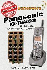 Panasonic Keypad Button Fix KX-TGA650B KXTGA650B KX-TG6500B KX-TG6502B TGA650