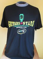 GUITARS AND STARS FROGGY 101 COUNTRY MUSIC RADIO T-SHIRT, Large, Scranton PA