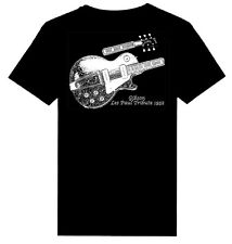 1952 Gibson Les Paul Gold Top print Heavy Weight T-Shirts   S-5XL