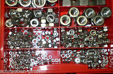 205 Part Stainless Steel Assortment BOX Hex Nuts Mix XL M3-M16