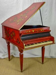 Antique small scale grand piano