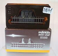 Märklin Mini Club Spur Z Nr. 8588 Trenngleisstück 55mm 2 OVP #9841