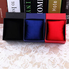 Gift Boxes Case With Pillow For Bangle Jewelry  Ring Earrings Wrist Watch BoxCeV