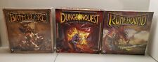 Battlelore 2nd Runebound 3rd Sealed~DungeonQuest 1st~Board Game Miniatures Lot
