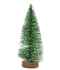 15CM Mini Christmas Snow Tree Small Pine Tree Table Office Home Decoration Gift