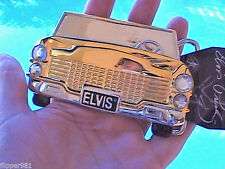 Elvis Gold Car with Bling Belt Buckle  NEW