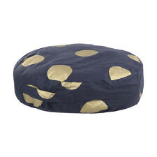 Polyester Round Decorative Floor Cushions