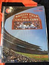 1985 CHICAGO CUBS  YEARBOOK