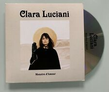 Rare 1er EP 4T CLARA LUCIANI CDS Promo MONSTRE D'AMOUR P. Carton 2017