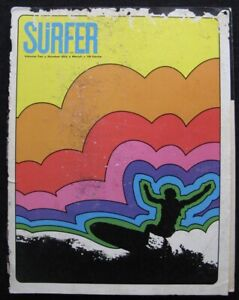 60s SURFER magazine Keith Paul Midget Farrelly Nat Young single fin vintage old