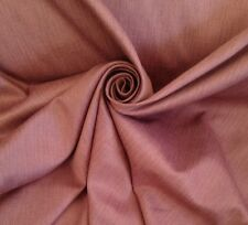 13 Metres Laura Ashley Pale Berry Tweed Look Textured Sateen Curtain Fabric