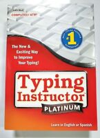 Typing Instructor Platinum 21 - Keyboard f/ Windows XP, Vista, 7, 8 & 10 - 80377
