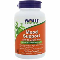 Mood Support with St. John's Wort High Strength Veg Capsules by Now Foods - 90