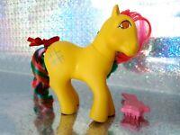 Tic Tac Toe Twinkle Eyed Hasbro G1 Vintage My Little Pony With Brush