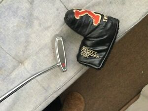 LH Scotty Cameron Red X Putter..Custom Red Alignment ..Super