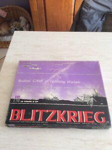 Rarissimo gioco da tavola Blitzkrieg 1965 Avalon Hill's Made Usa da collezione