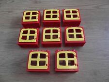 LEGO Duplo - 8 Rosso & Giallo Windows-GMT11