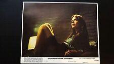 LOOKING FOR MR. GOODBAR - US ORIGINAL LOBBY CARD - 1977 - Diane Keaton