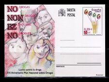 ESPAÑA ENTERO POSTAL 2006  Nº 175 PLAN NACIONAL SOBRE DROGAS