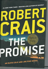The Promise by Robert Crais Signed 1st! (2015, Hardcover) Elvis Cole