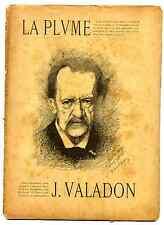 revue La Plume n°188,1897, Jules Valadon
