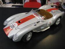 Bburago Ferrari 250 Testa Rossa 1:18 #330 zilver (B)