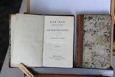 1830 - WALTER SCOTT - ROB-ROY IN TRE VOLUMI