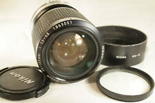 Nikon 35-105mm f3.5 Lens manual focus AI-S AIS Nikkor original HK-11 hood caps