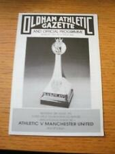 28/08/1991 At Oldham Atheltic: Manchester United v Oldham Athletic [CCTV Relay F